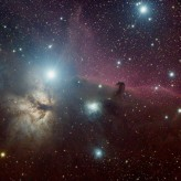 Horsehead and Flame Nebulae taken by David Rivenburg of Austin, TX